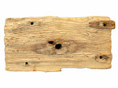 istock Old piece of wood 92973644