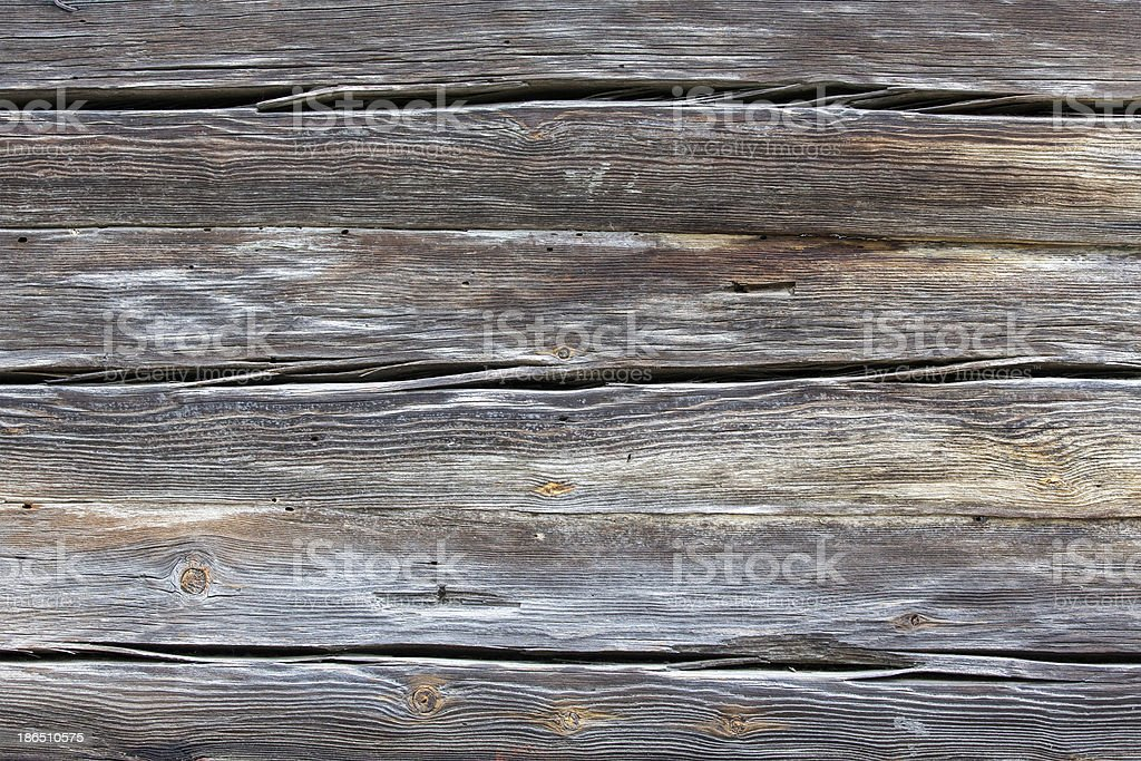 Old pine wood planks royalty-free stock photo