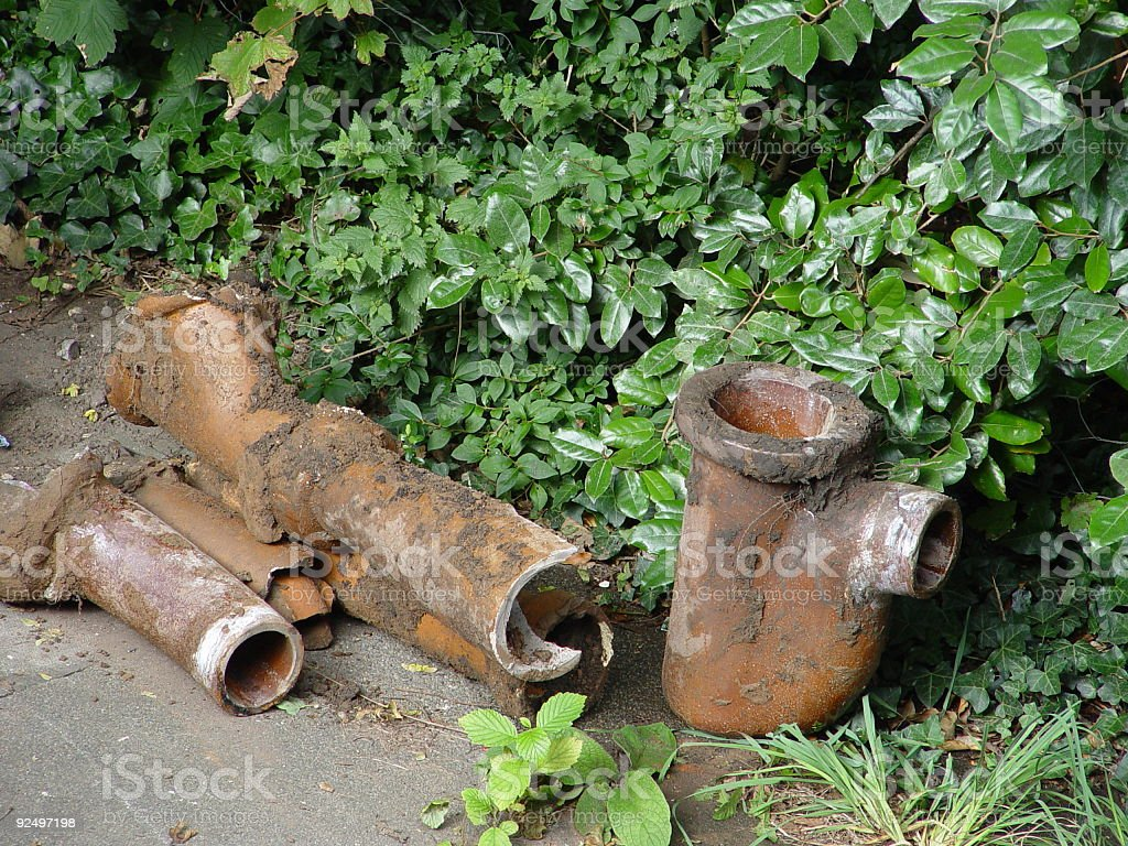 Old Pipes royalty-free stock photo