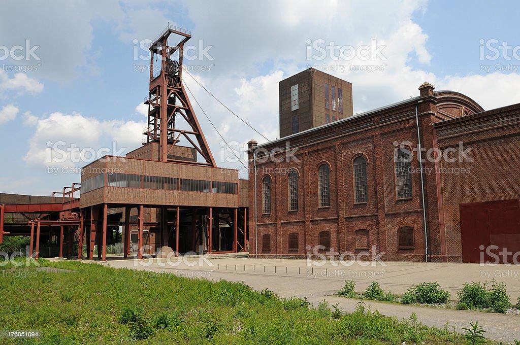 Old Pithead, Zollverein royalty-free stock photo