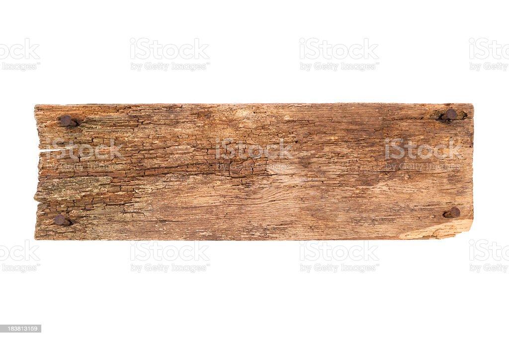 Old Plank und Nägel – Foto