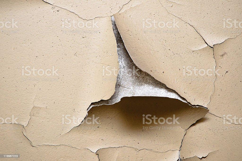 Vieux Plâtre - Photo de Craquelé libre de droits