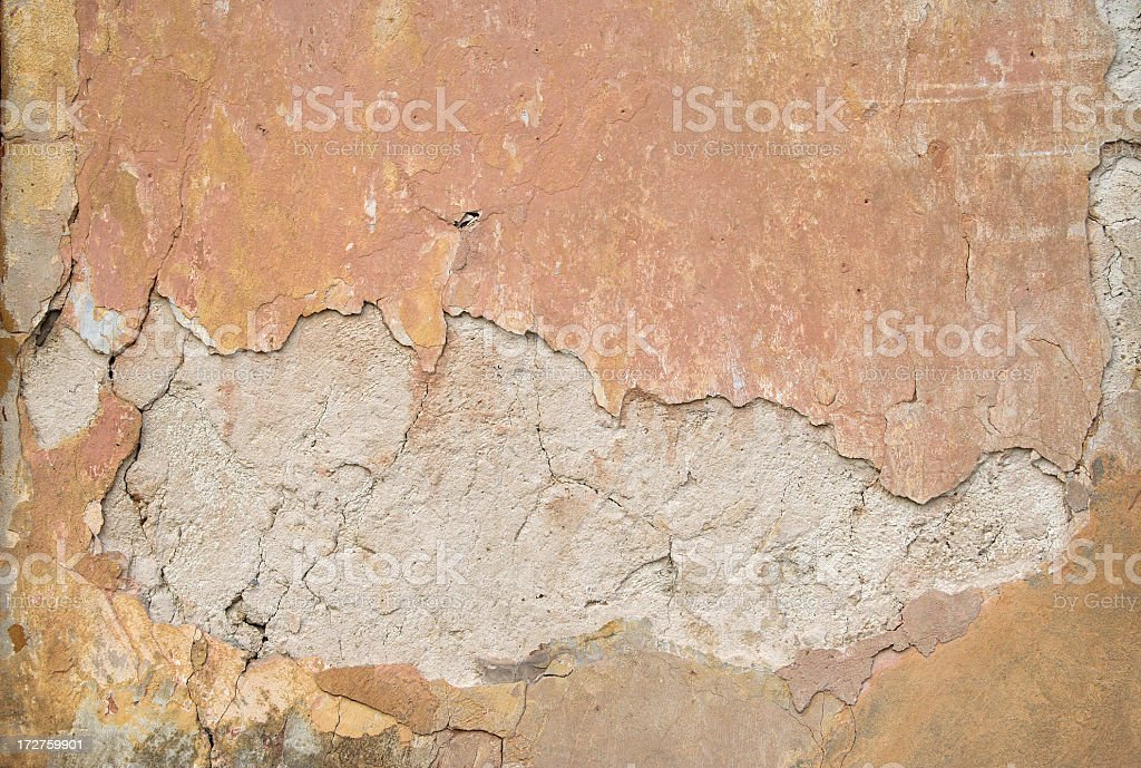 old plaster - texture wall royalty-free stock photo
