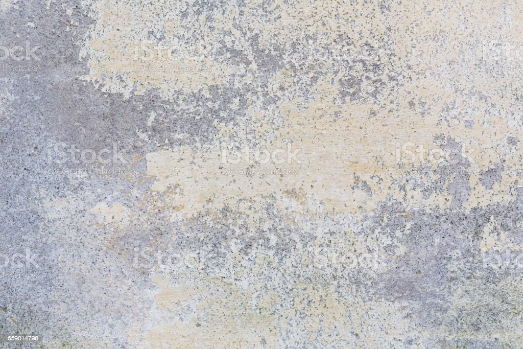 old plastered wall with shabby paint royalty-free stock photo