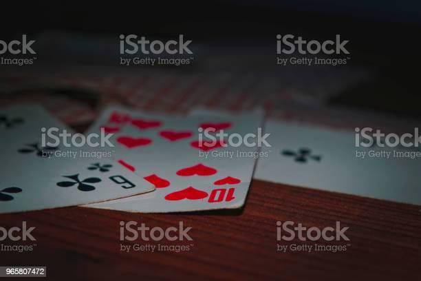 Старые Игральные Карты — стоковые фотографии и другие картинки Азартные игры