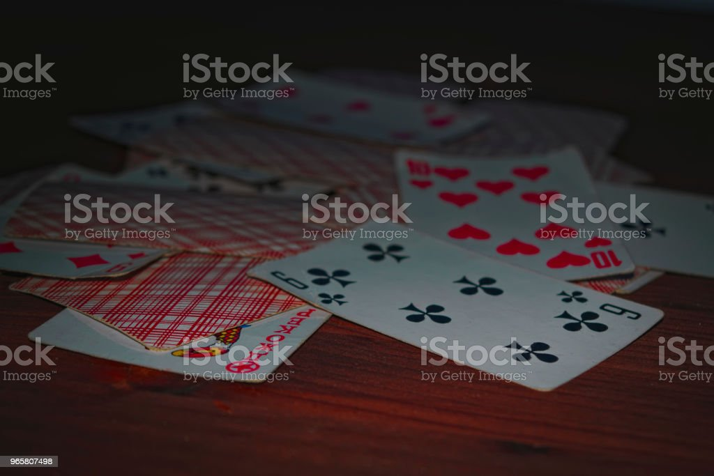 Old playing cards - Royalty-free Ace Stock Photo