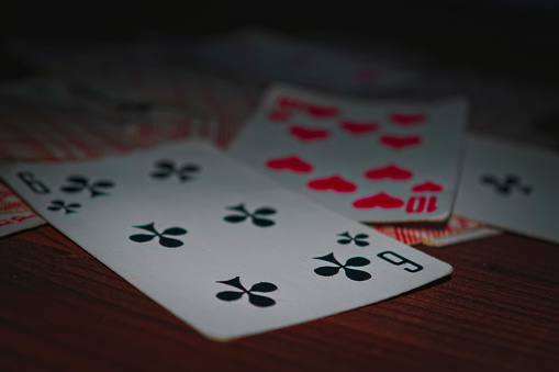 Old Playing Cards Stock Photo - Download Image Now