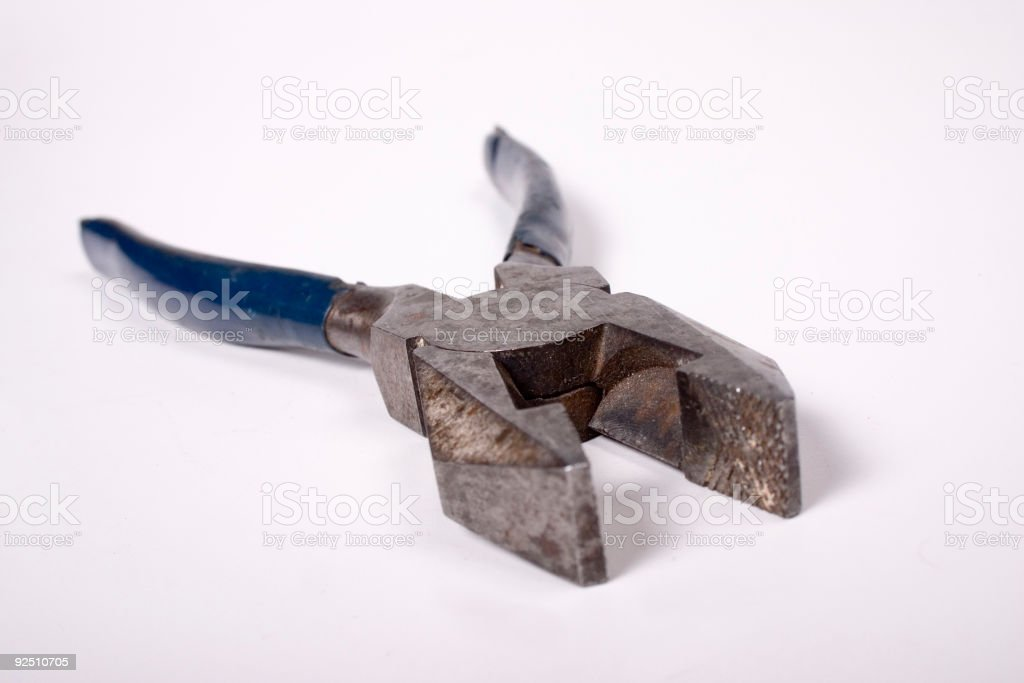 Old Pliers royalty-free stock photo