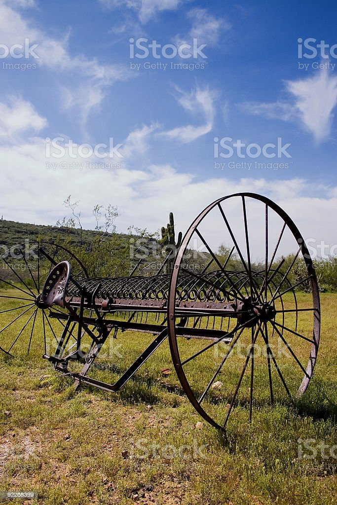 Old Plow royalty-free stock photo