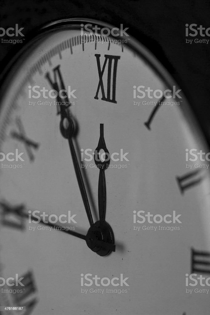 Old pocket watch close-up royalty-free stock photo