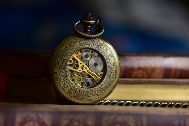 Alte Taschenuhr – Foto