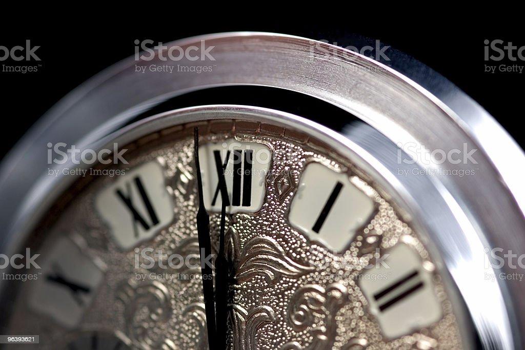 Old Pocket Watch - Royalty-free 12 O'Clock Stock Photo