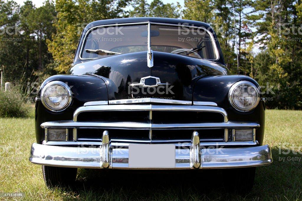 Old Pontiac stock photo