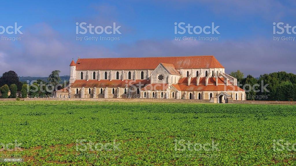 old Pontigny Abbey, Burgundy - Photo