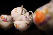 Old porcelain Tea cups
