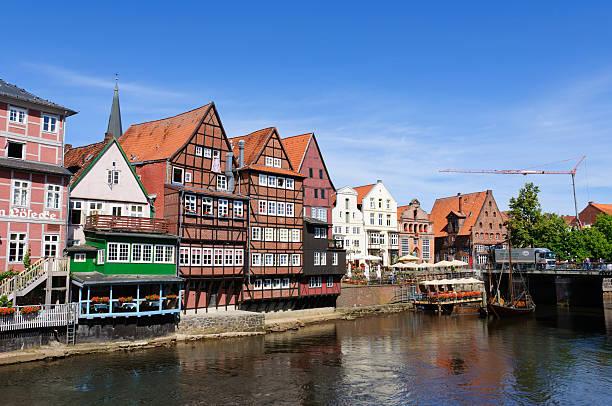 Old port of Lüneburg, Germany Old port of Lüneburg, Germany lüneburg stock pictures, royalty-free photos & images