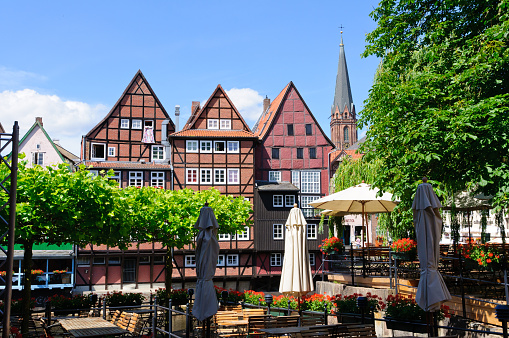 Old Port Of Lüneburg Germany Stock Photo - Download Image Now