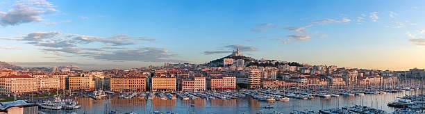 Old port of Marseille XXXL - HDR stock photo