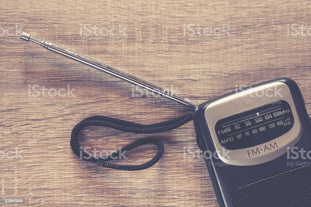 Old Portable Transistor Radio Stock Photo & More Pictures of Analog