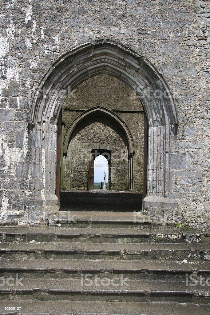 old portal royalty-free stock photo