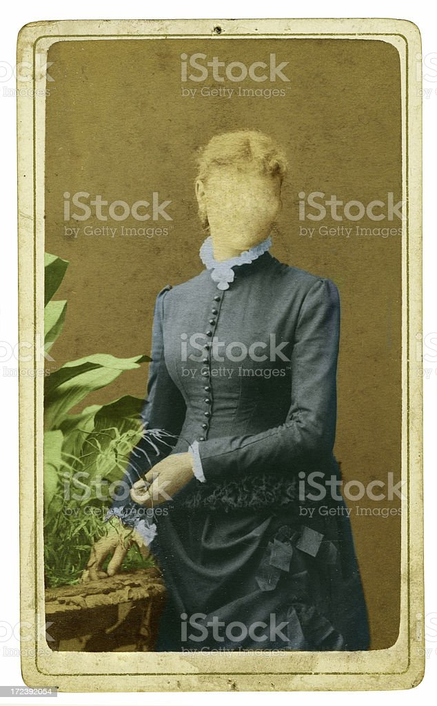 old portrait royalty-free stock photo