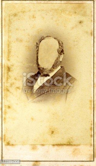 istock Old portrait 172394005