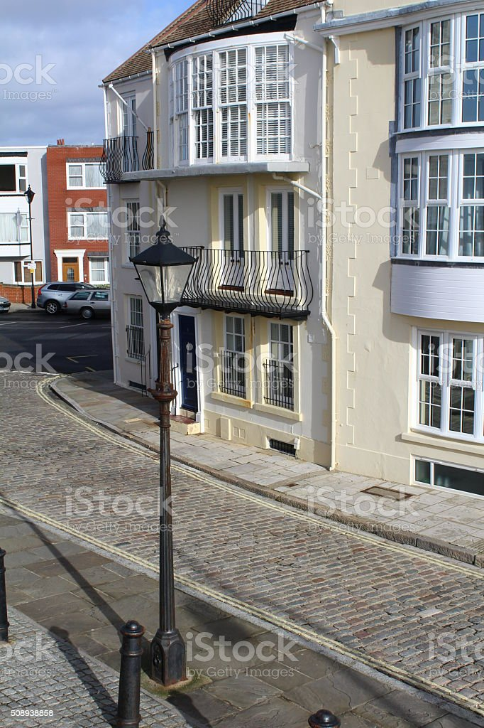 Old Portsmouth stock photo