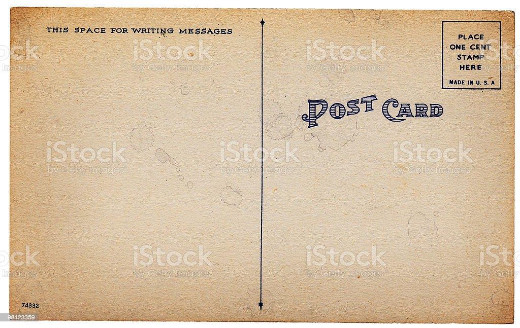 늙음 판매후 카드 등근육 royalty-free 스톡 사진