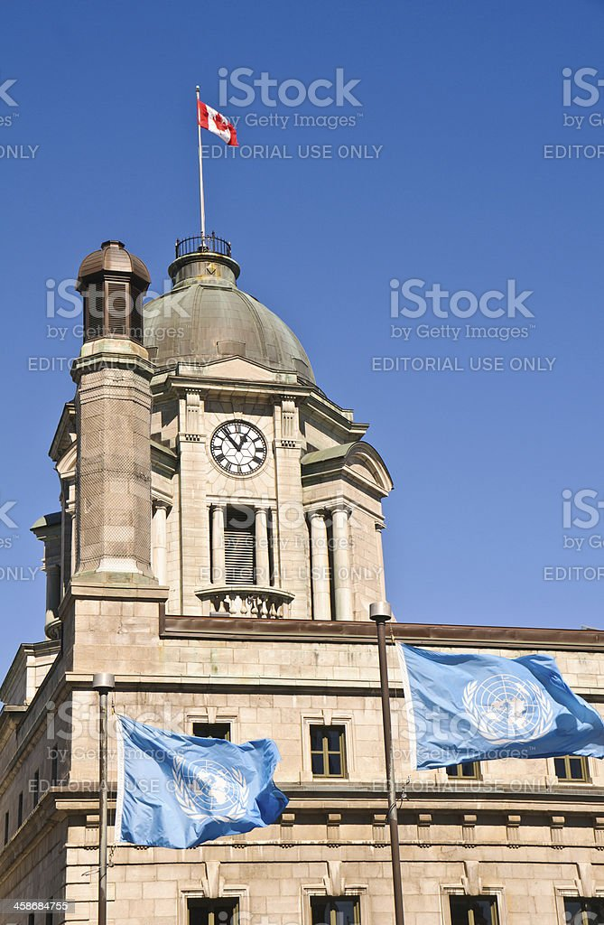 Old Post Office Building royalty-free stock photo