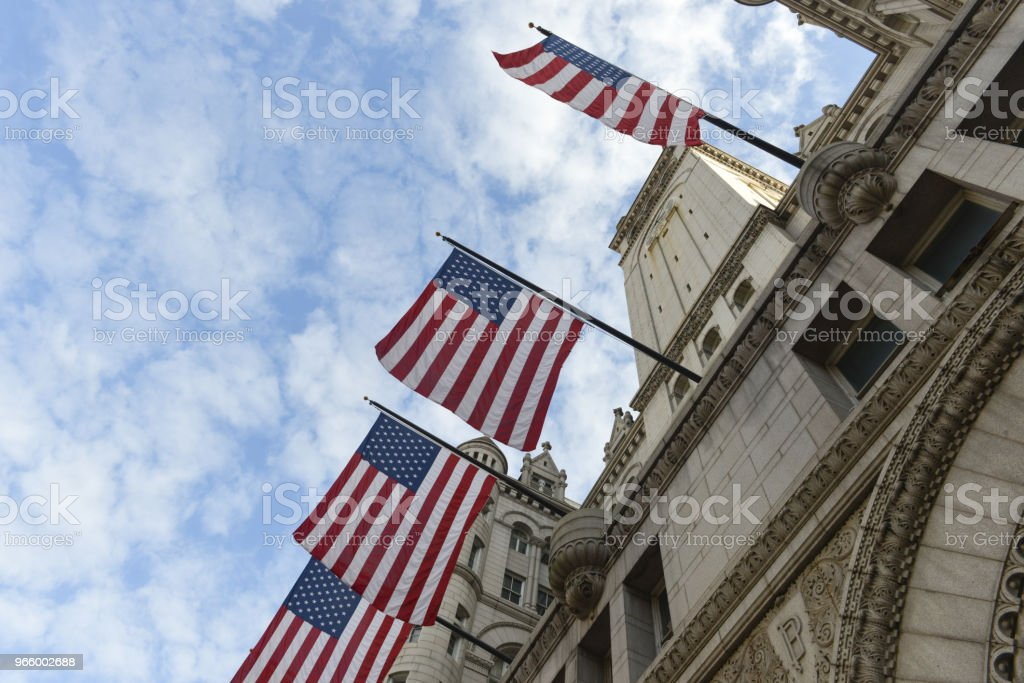 Old Post Office Building, Washington, DC - Royalty-free Antique Stock Photo