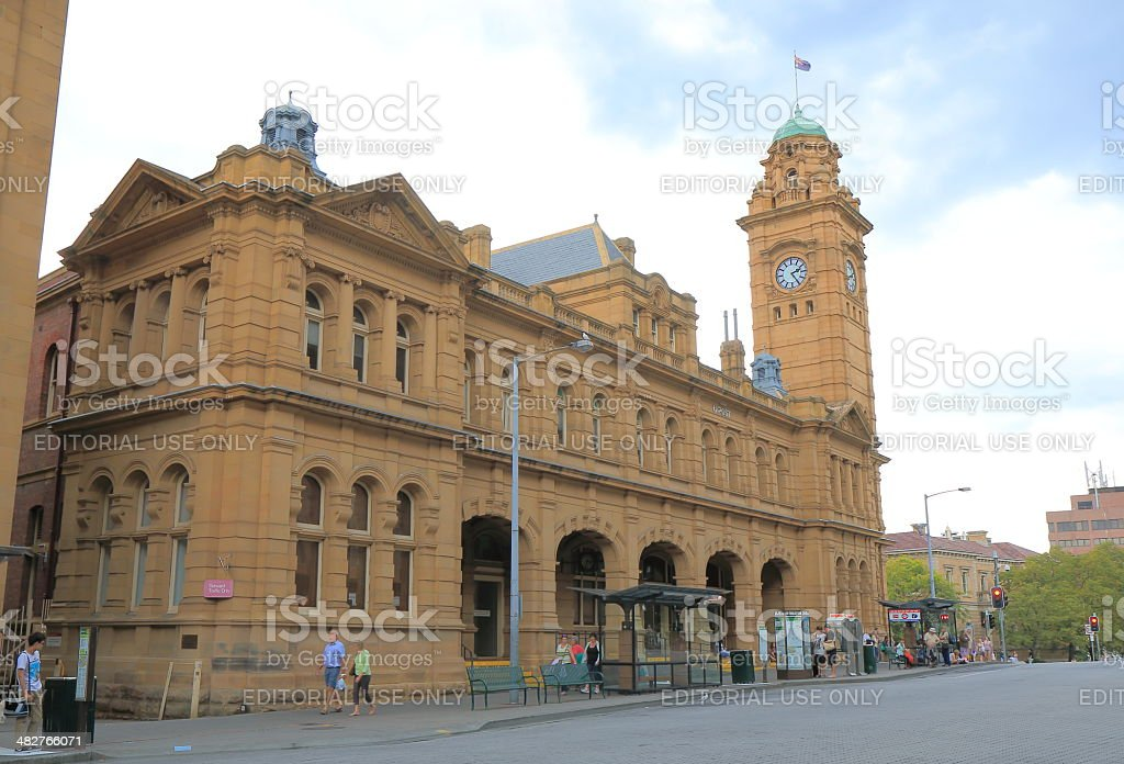 Old post office Hobart stock photo