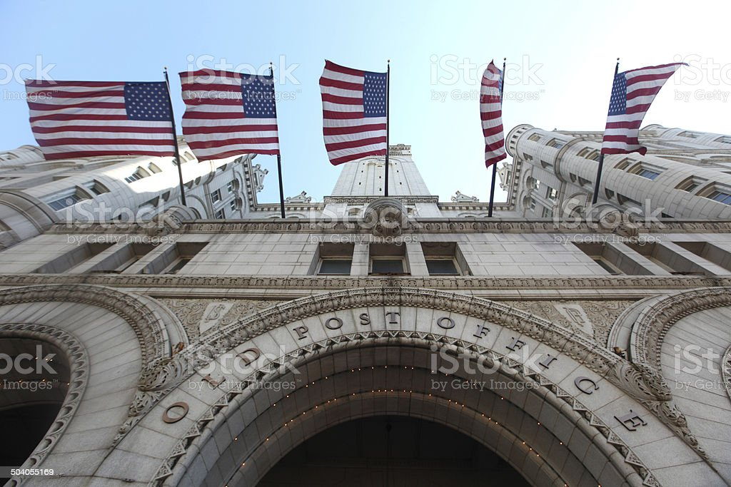 Old Post Office stock photo