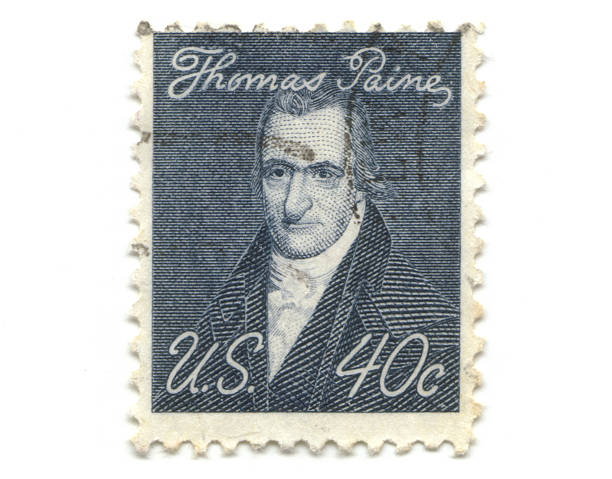 old Briefmarke von USA 40 cent – Foto