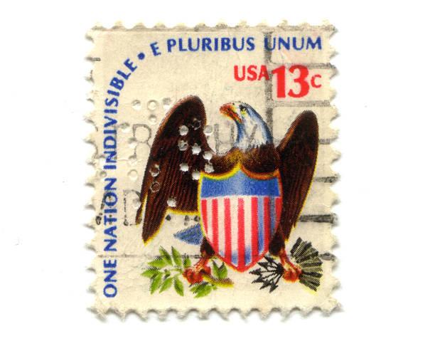 Alter Briefmarken aus USA 13 Cent – Foto