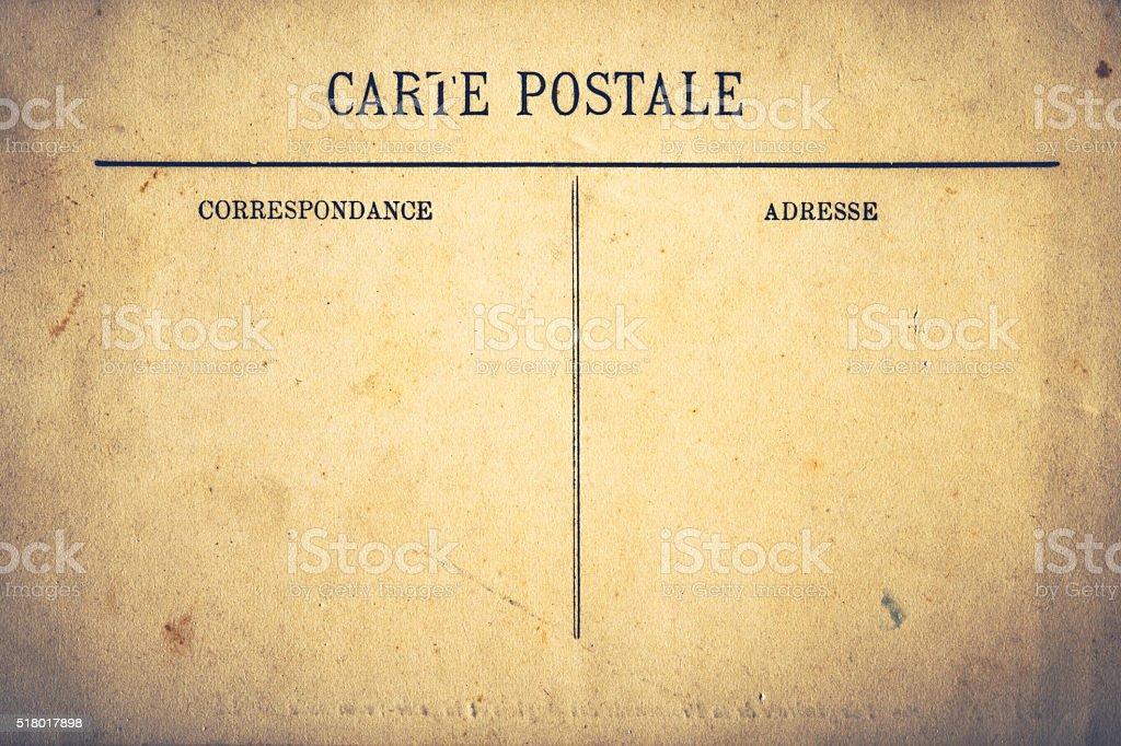 Alte Postkarte Hintergrund Lizenzfreies stock-foto