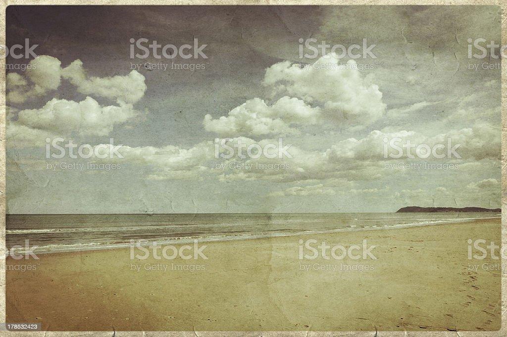 Old postcard style (Series) stock photo