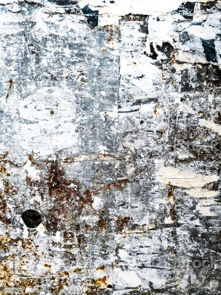 Old posters grunge textures and backgrounds royalty-free stock photo