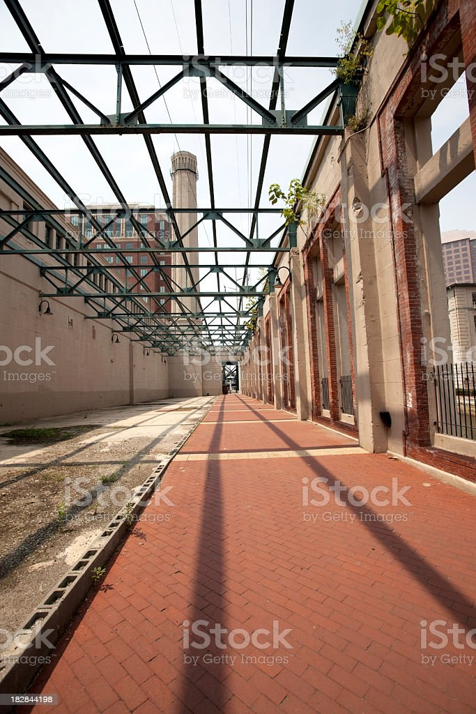 Old Power Plant stock photo