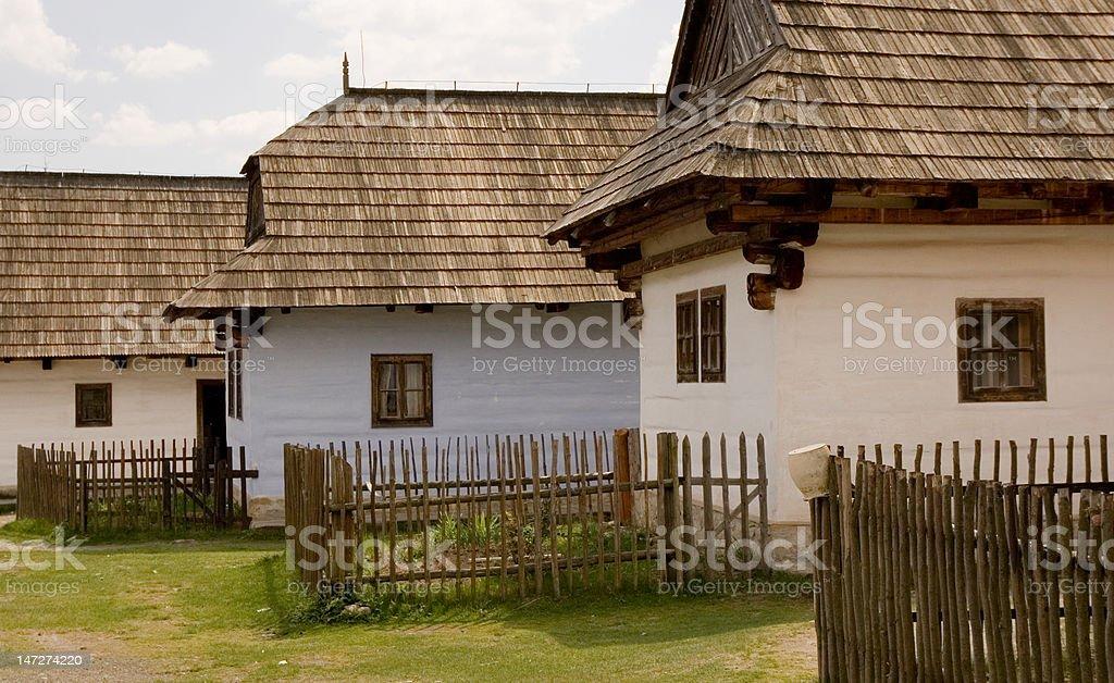Old Pribylina royalty-free stock photo