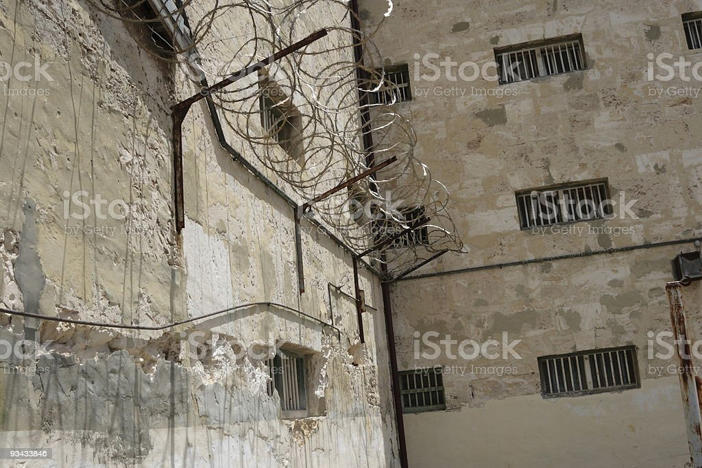 Alte Gefängnis in Fremantle Lizenzfreies stock-foto