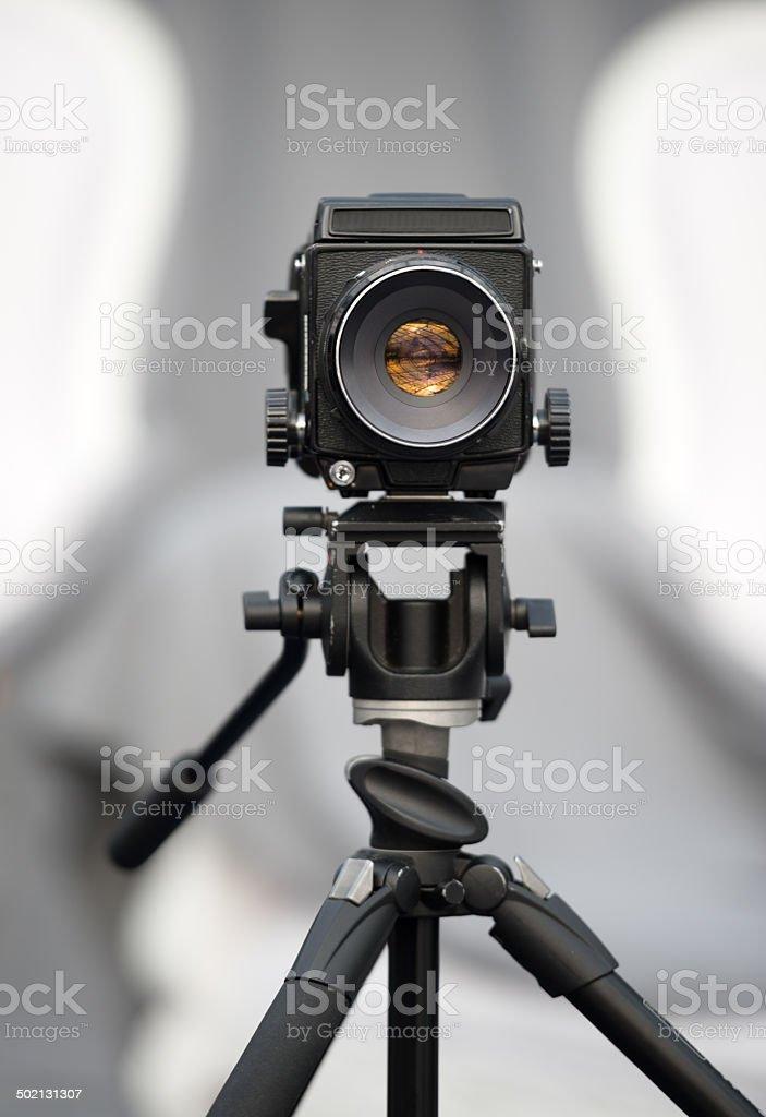 Old professionellen Mittelformat-Kamera – Foto