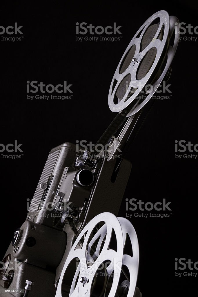 old projector royalty-free stock photo