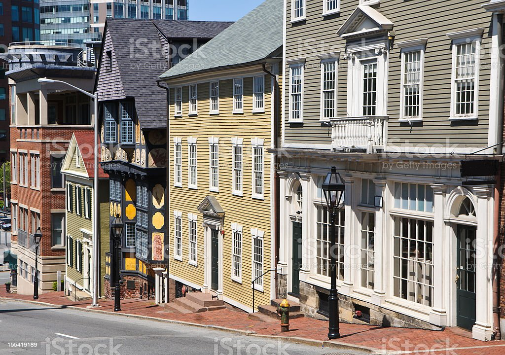 Old Providence Architecture stock photo