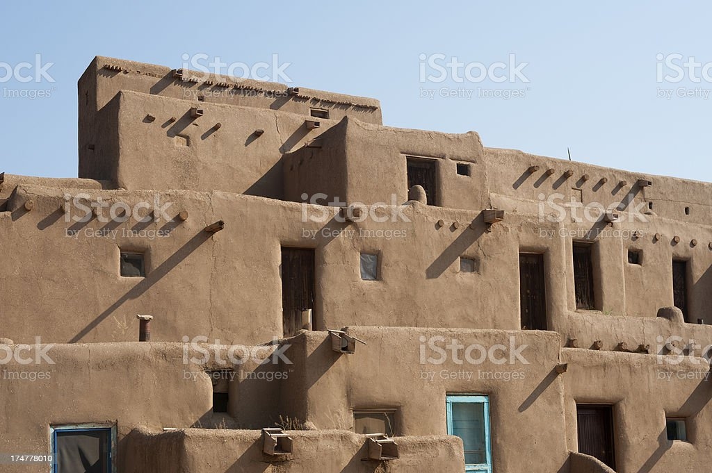 \'The Taos Pueblo is probably considered one of the world\'s first...