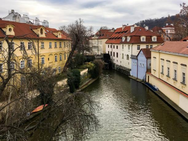 Old quarter in Prague stock photo