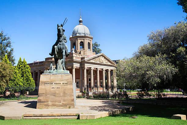 Old Raadsaal in Bloemfontein stock photo
