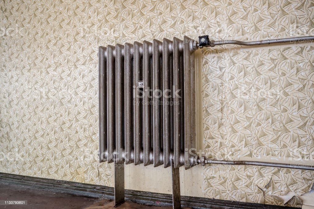 Old Radiator In The Living Room Stock Photo Download Image Now Istock