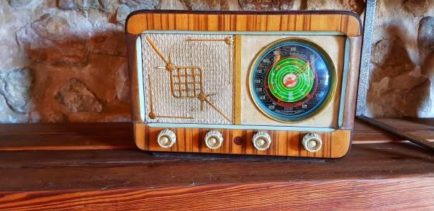 Old de radio - foto de stock