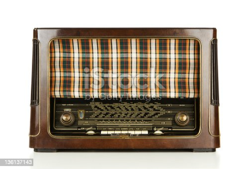1065736660istockphoto Old radio 136137143