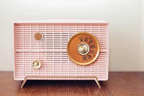 alten radio - radio kultur stock-fotos und bilder